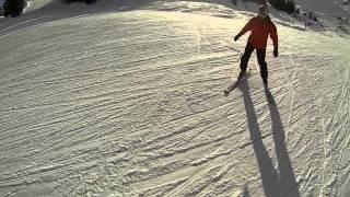 Спуск в Куршавель-1850 мираж(, 2013-02-06T14:26:55.000Z)