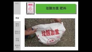 珪酸加里肥料 ケイサンカリ、珪酸カリ用