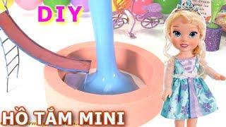 Đồ Chơi Trẻ Em  Đồ Chơi Trẻ Em Máy Kẹo Gumball Tự Làm Hồ Bơi Slime Mini ChoBúp Bê Nữ Hoàng Elsa