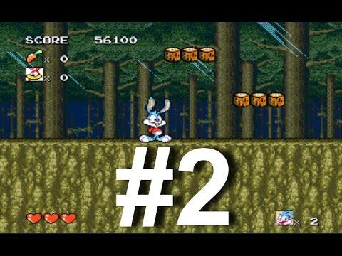 Tiny Toon Adventures: Busters Hidden Treasure (Sega) прохождение игры Часть 2