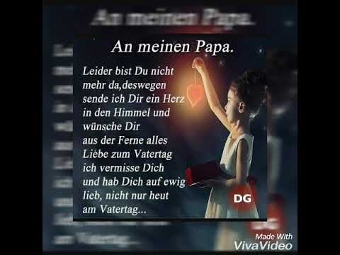 Alles Gute Zum Vatertag Feier Schon Im Himmel Papa Youtube