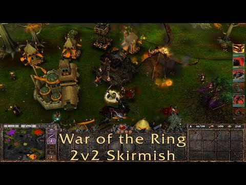 Lord of the Rings: War of the Ring - 2v2 Skirmish gameplay (No Commentary)