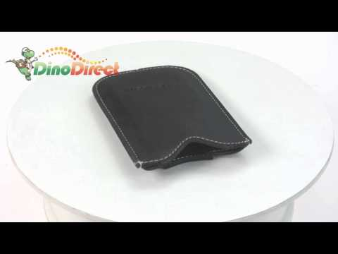 BlackBerry Pearl 8120 8130 Leather Pocket Case Pouch Black from Dinodirect.com