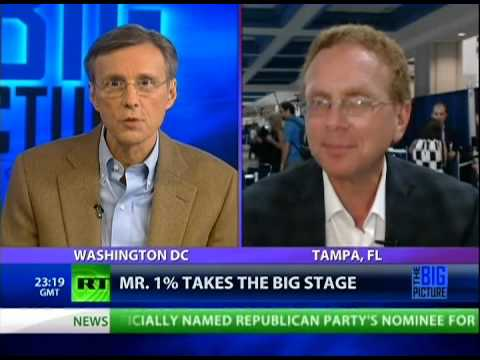 Full Show 8/30/12: Ryan Lies for the Corporatocracy
