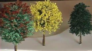 Vegetação em Miniaturas: Árvore de sisal