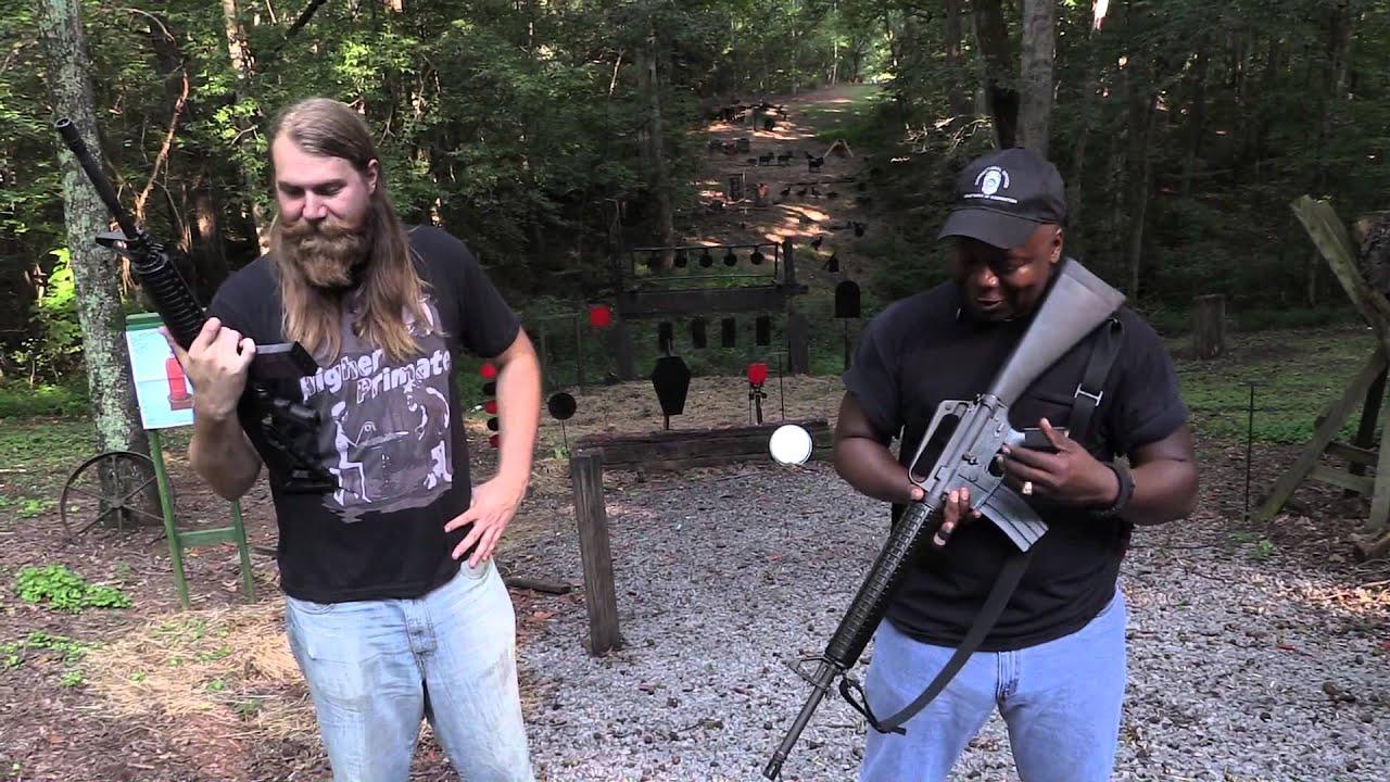 M4 carbine vs A2 rifle