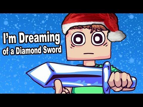 I'm Dreaming of a DIAMOND SWORD (White Christmas Parody)