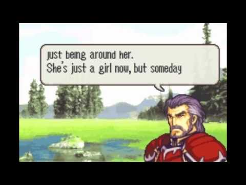 Fire Emblem: The Sacred Stones - Amelia & Duessel Support