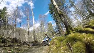 Quad Biking in Dunkeld, Perthshire with Highland Offroad