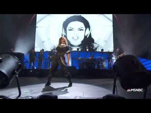 Janet Jackson pays tribute to Michael Jackson (