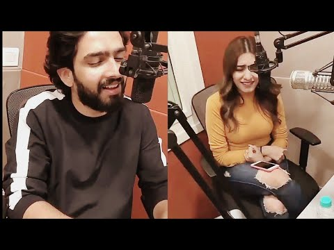 Amaal Mallik Live Singing Subah Subah With Prakriti kakar || Redio 94.3 FM
