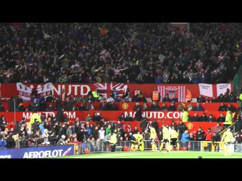 Sunderland goal vs Man U, League Cup, 22-1-2014.