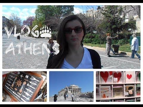 VLOG στην ΑΘΗΝΑ    Athens Travel vlog