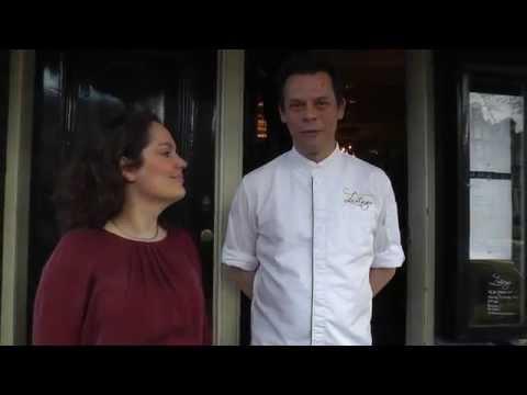 Presentation of the Michelin star Restaurant Lastage in Amsterdam