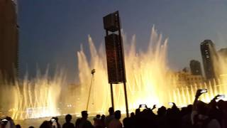 Valentine's Day Song (I will always love you) at Dubai Fountain 14.02.2016