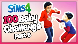 The Sims 4: 100 Baby Challenge with Toddlers - Part  8 - They Grow Up So Fast!!