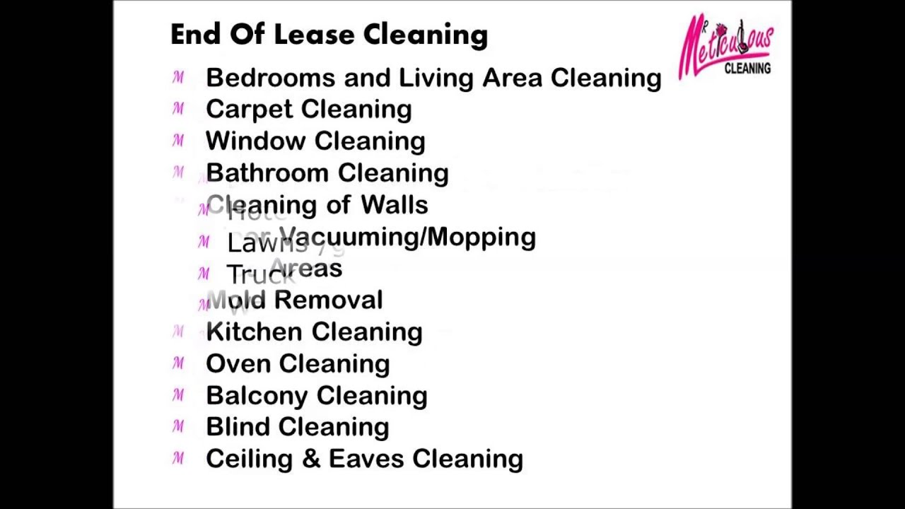 Mr Meticulous Cleaning Services in Sydney - YouTube