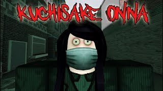 Slit Mouthed Woman // Japanese Urban Legend ( A Roblox Horror Story )