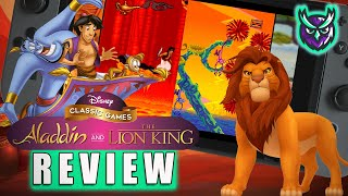 Disney Classic Games: Aladdin & The Lion King Switch Review - Pricey Nostalgia! (Video Game Video Review)