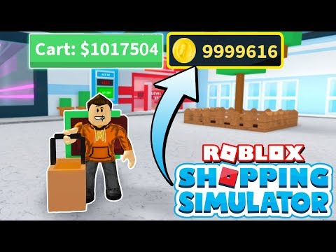Unlimited Money Glitching in Roblox Shopping Simulator! *Millions Per Minute!*
