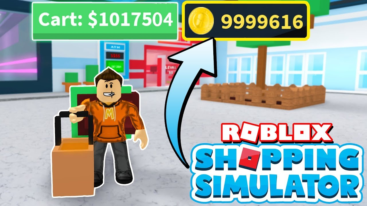 Unlimited Money Glitching In Roblox Shopping Simulator Millions Per Minute - shopping roblox