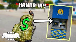 Vigilante Tries Preventing Us From Using ATM! (Arma 3 Altis Life)