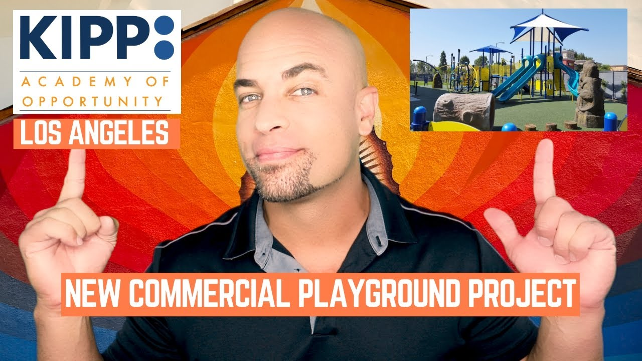 Kipp La School New Commercial Playground Installation Youtube