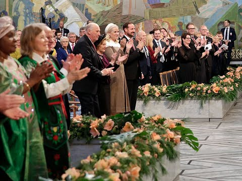 Nobelfesten 2018: Arrival of the Norwegian Royal Family