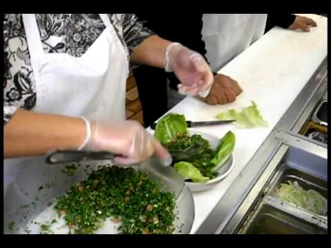 how to make taboule vine valley restaurant akron ohio