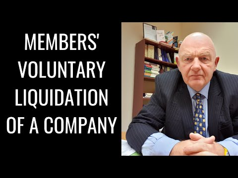 Members' Voluntary Liquidation of a Company