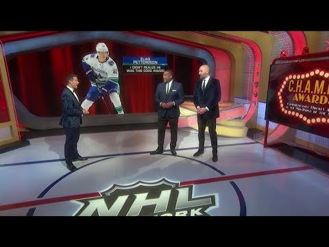 CHAMPS Awards:  Elias Pettersson wins 'I Didn`t Realize He Was This Good'  Jan 28,  2019