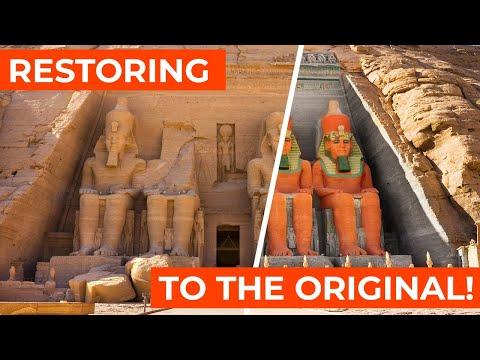 "Restoring ""Abu Simbel"