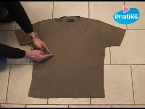 Cómo Doblar Una Camisa In 5 Segundos Youtube