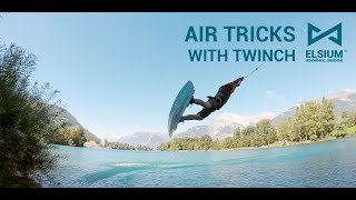 2017 : Air tricks with Elsium Twinch at Sion