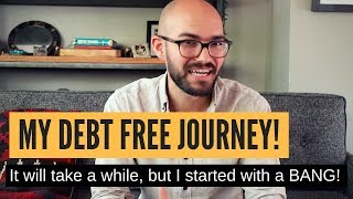 My debt free journey: Time to get serious with finances!