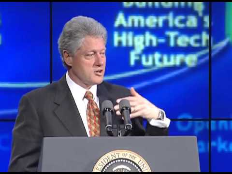 President Clinton's Remarks to UUNET and MCI Employees (2000)