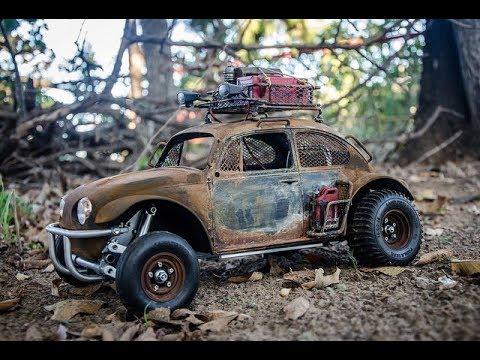Tamiya Apocalypse Sand Scorcher, Part 2, with Shapeways and Real Rust