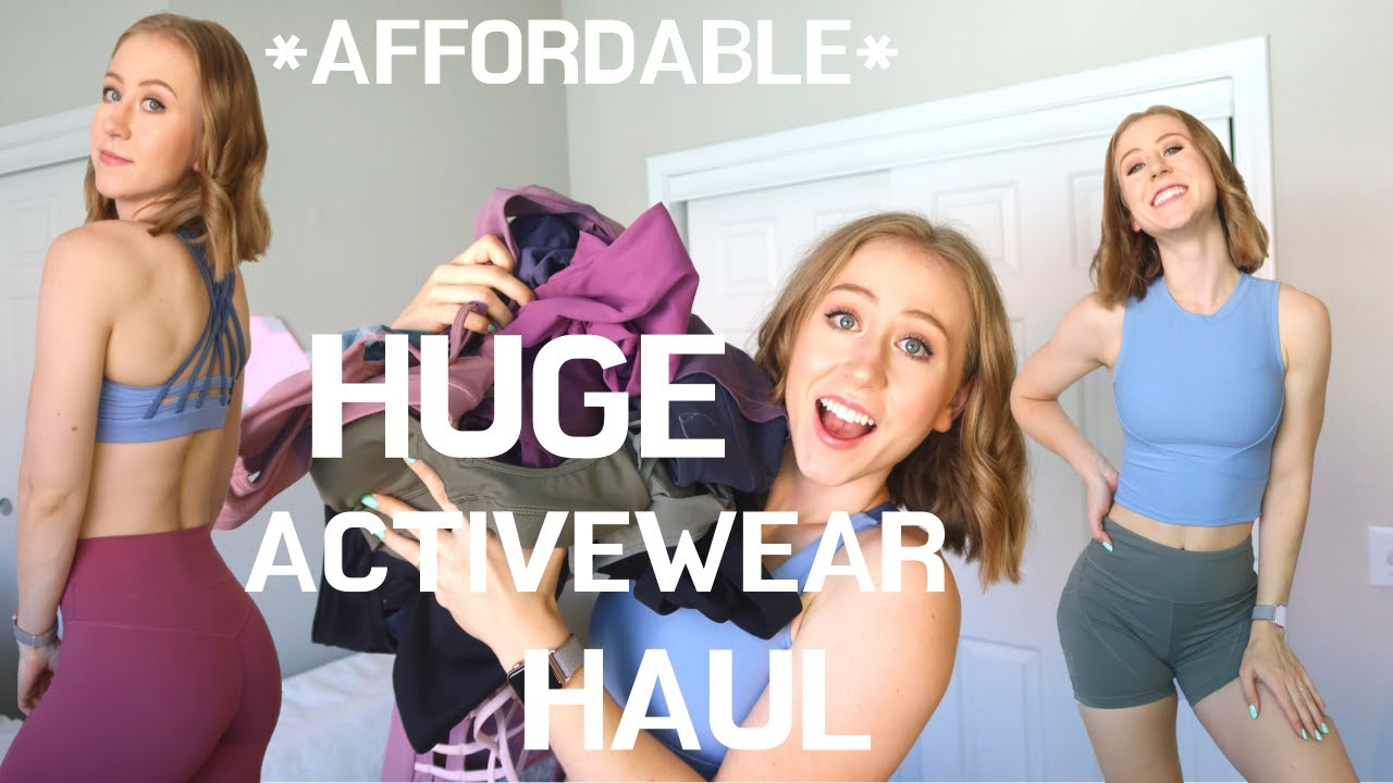HUGE $500+ AliExpress Activewear Haul!! | Affordable Basics