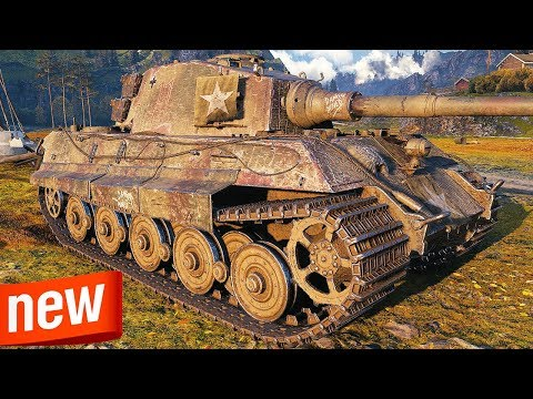 King Tiger - NEW AMERICAN HEAVY TANK - World Of Tanks Gameplay