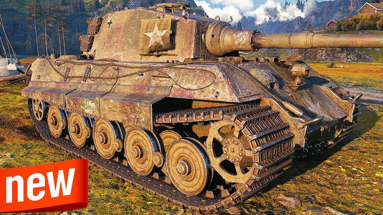 King Tiger - NEW AMERICAN HEAVY TANK - World of Tanks Gameplay - YouTube
