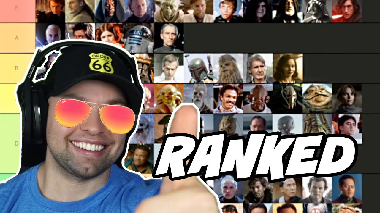 Ranking Every Star Wars Character in the Skywalker Saga Best to Worst