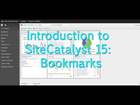 [Tutorial]: Adobe Reports & Analytics: Bookmarks