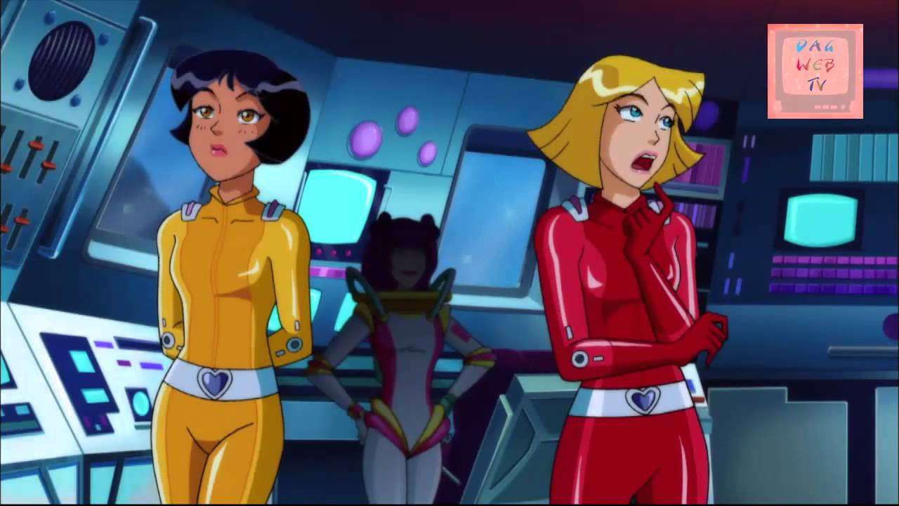Ba saison 6 et film des totally spies prochainement sur la dag web tv youtube - Dessin anime de totally spies ...