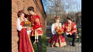 Свадьба  в русском стиле (Николай и Антонина).06.11.2015г.