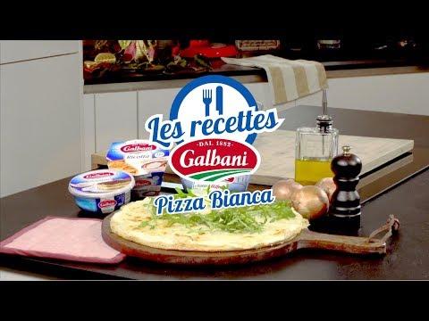 pizza-bianca---recette-de-pizza- -galbani
