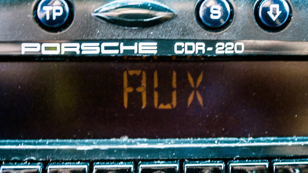 How to add an Aux input to the Porsche Boxster 986