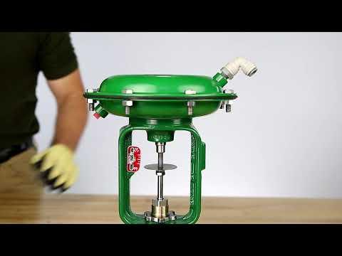 How To Set Bench Range For An Air-to-Close Baumann Actuator