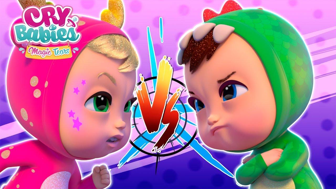 💪🏾💪🏻 Niemożliwy zakład 💪🏻💪🏾 CRY BABIES 💧 MAGIC TEARS 💕 Cały Odcinek 🌈 Animacja dla dzieci