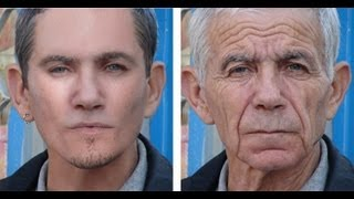 Old Man To Young Man In Photoshop