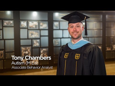 Tony Chambers: Master of Education in Special Education `17, University of Missouri